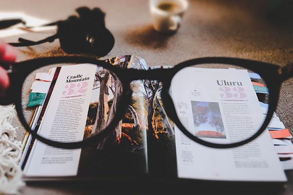 Immagine occhiali da vista per il servizio di Esame della Vista a Roma, offerto da Ottica Ranieri